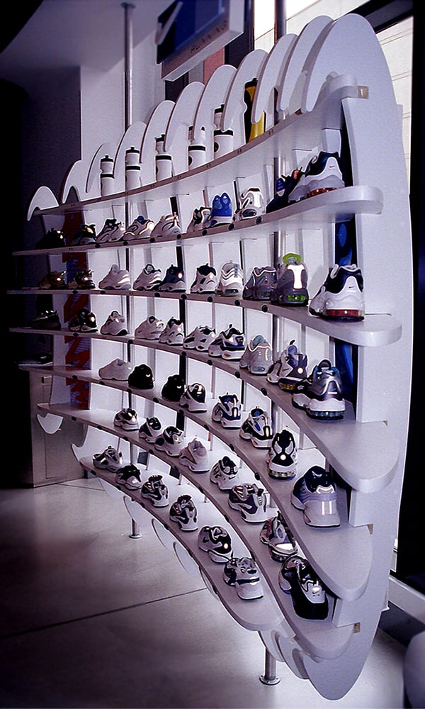 Niketown-display