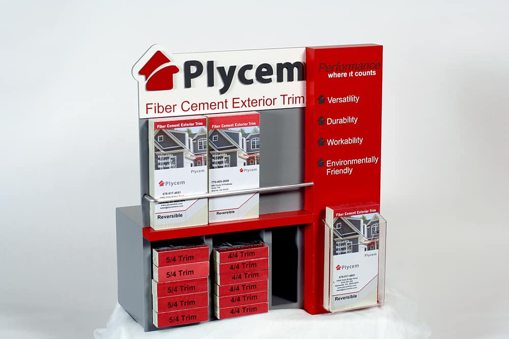 Plycem-counterdisplay