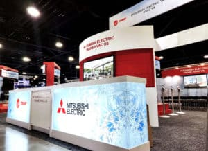 Mitsubishi Electric AHR Exhibit