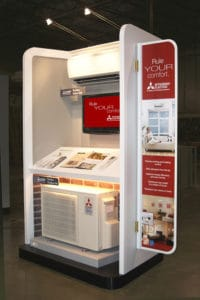 Mitsubishi Electric product display